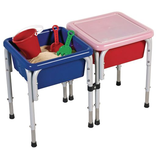 Multi-station Sand & Water Tables with Lids
