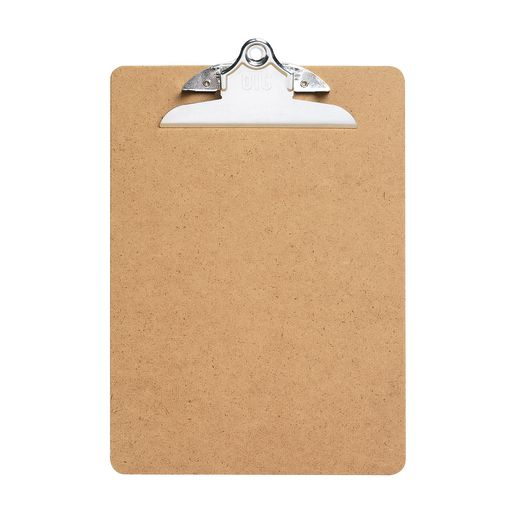 Officemate® Letter Size Wood Clip Board