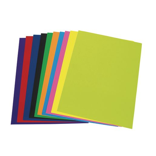 Image of Colorations Super Heavyweight Colored Poster Board, 20 Sheets
