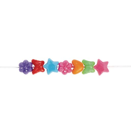 Colorations® Fun Shapes Pony Beads 1 lb.