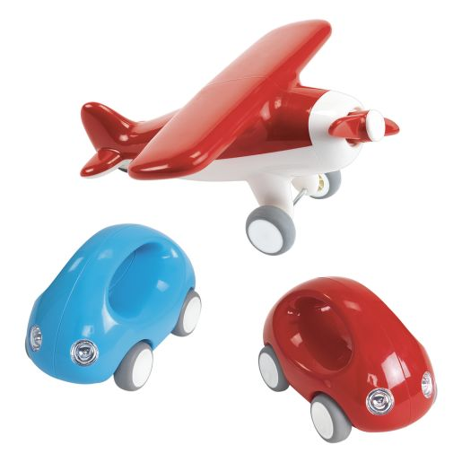 Go Cars, Truck and Plane Set