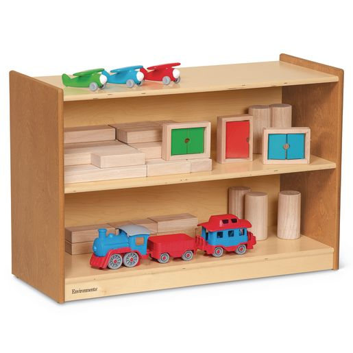 Image of Environments 24 Forest Wood Compact Shelves