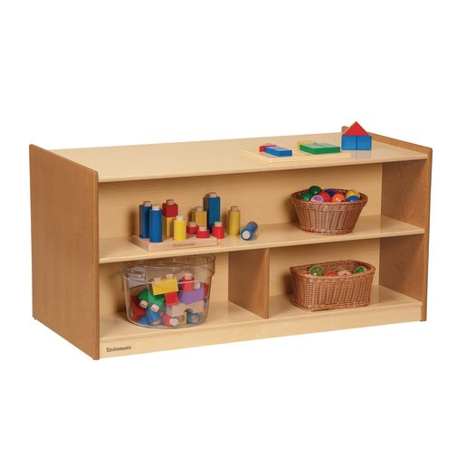 "Environments® 24"" Forest Wood Dual-Sided Storage"