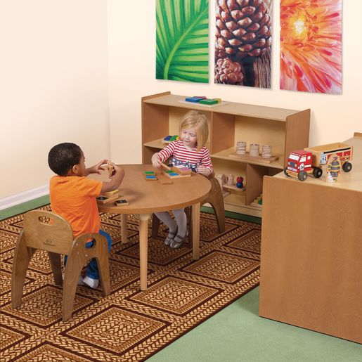 "Environments® 30"" Forest Wood Dual-Sided Storage"