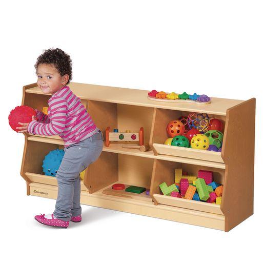 "Environments® 24"" Forest Wood Bin Storage"