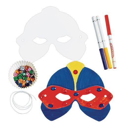 Super Hero Masks - Set of 24