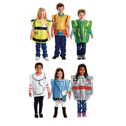 Image of Excellerations Brawny Tough Costumes Set 1 - Set of 6
