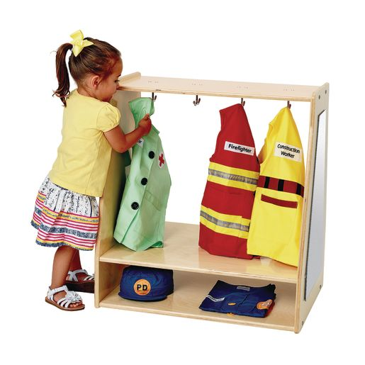 Image of Angeles Value Line Birch Toddler Dress-Up Storage