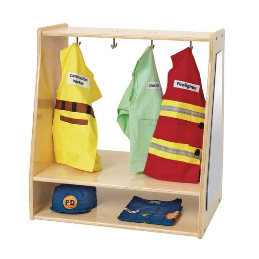 Angeles Value Line™ Birch Toddler Dress-Up Storage