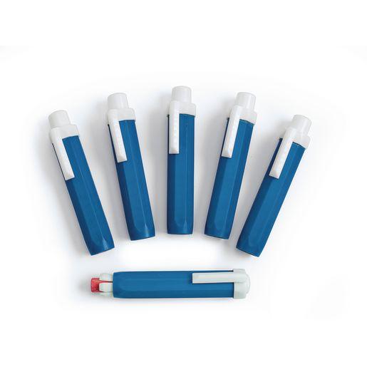 Plastic Chalk Holder - Set of 6