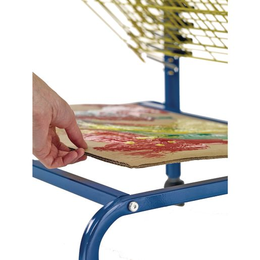 Spring-Loaded Drying Rack