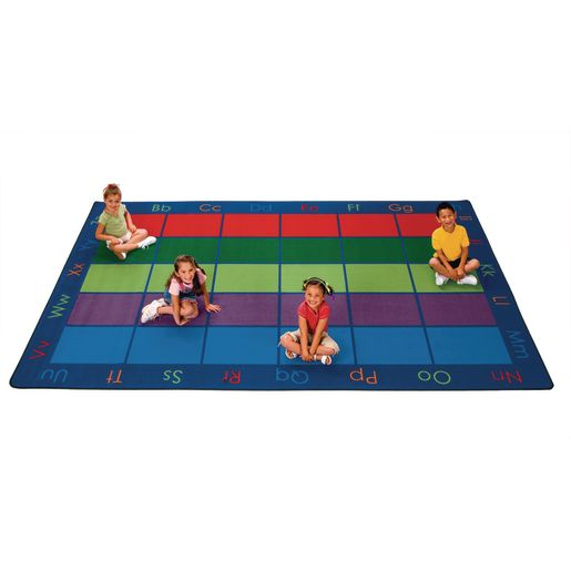 Colorful Places Seating 6' x 9' Rectangle Premium Carpet