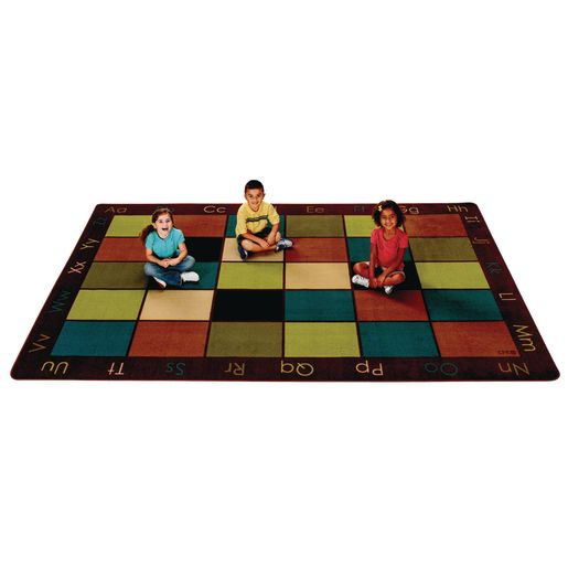 Nature's Colors Seating 6' x 9' Rectangle Premium Carpet