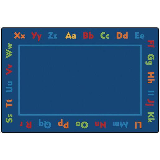 Alphabet ValuePLUS™ Rug - 8' x 12' Rectangle