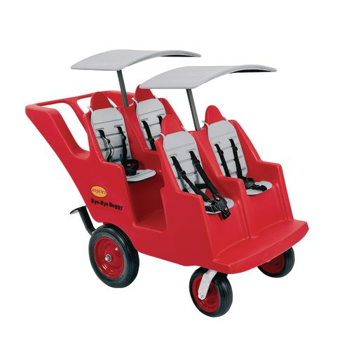 "Angeles® ""Fat Tire"" Bye-Bye® Buggy® with Gray Seat Pads"