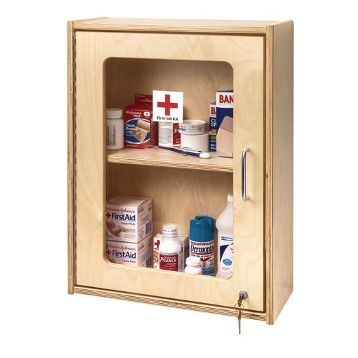 Image of Lockable First Aid Cabinet