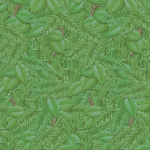 Fadeless® Design Paper Rolls - Tropical Foliage