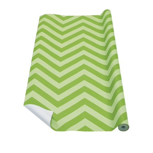 Fadeless® Design Paper Rolls - Lime Chevron