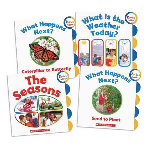 First Natural Science Board Books