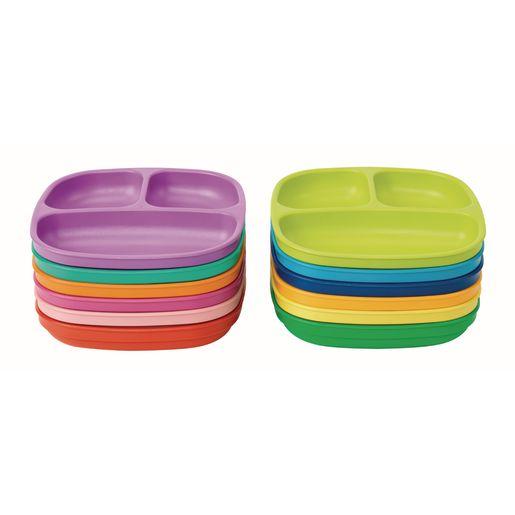 Environments® Dozen Rainbow Plates