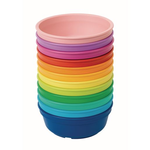 Environments® Rainbow Set of 12 Plates and Bowls