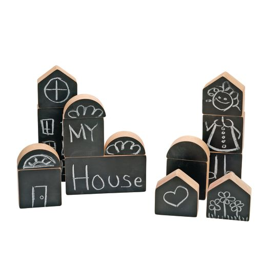 Excellerations® Chalkboard Blocks - Set of 15