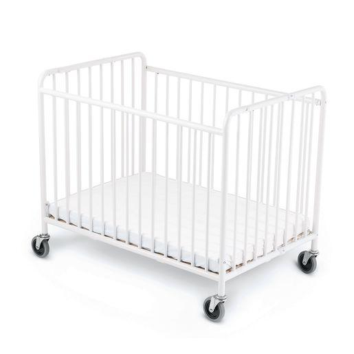 Image of Foundations StowAway Easy Roll Folding Steel Crib
