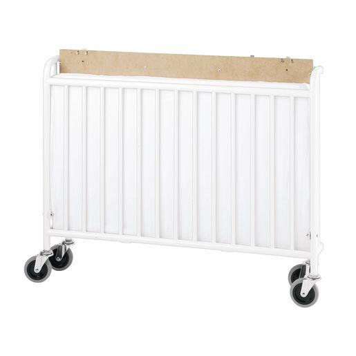 Foundations® StowAway™ Easy Roll™ Folding Steel Crib