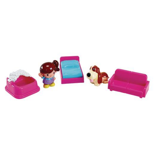 Dollhouse Play Set - 10 Pieces