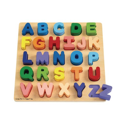 Chunky Wooden Alphabet Letter Puzzle