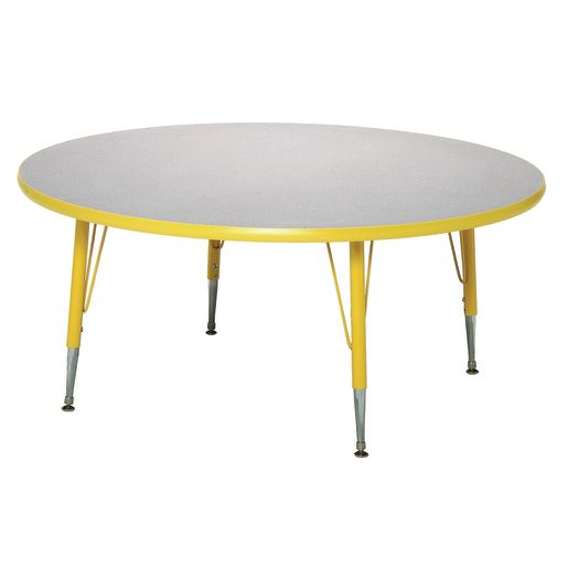 "Blue 18-25""H, 48"" Round Scholar Craft™ Activity Table"