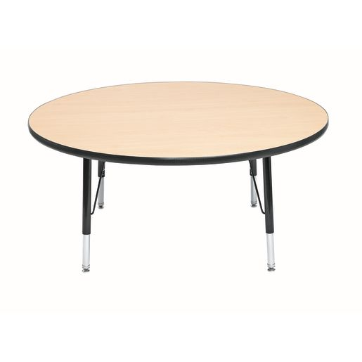 "Wood Top 18-25""H, 48"" Round Scholar Craft™ Activity Table"