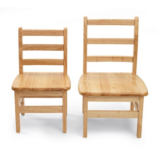 Jonti-Craft® Instructor's Ladderback Chair Pair