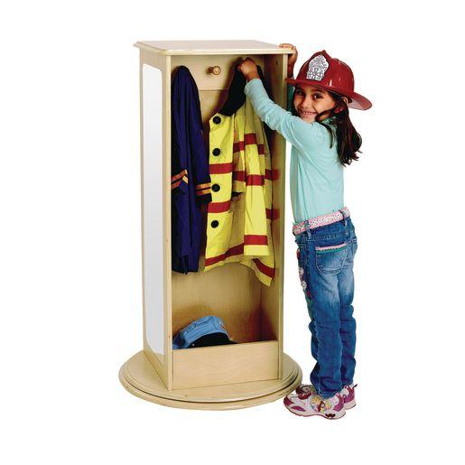 Rotating Dress-Up Storage Unit