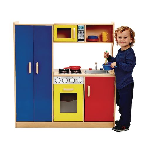 Bright & Stylish Play Kitchen