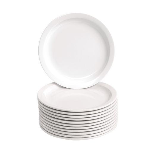 "Dozen 7.5"" Melamine Plates"