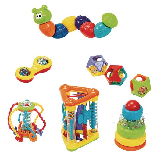 Infant Discovery Set - 10 Pieces