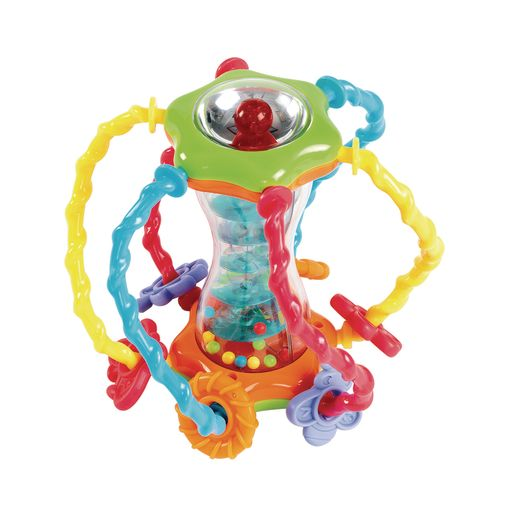 Infant Discovery Ball and Rattle