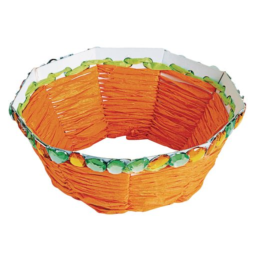 Image of Colorations Basket Weaving Craft - Kit for 12