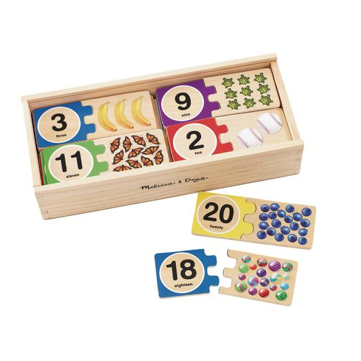 Self-Correcting 1-20 Number Puzzles