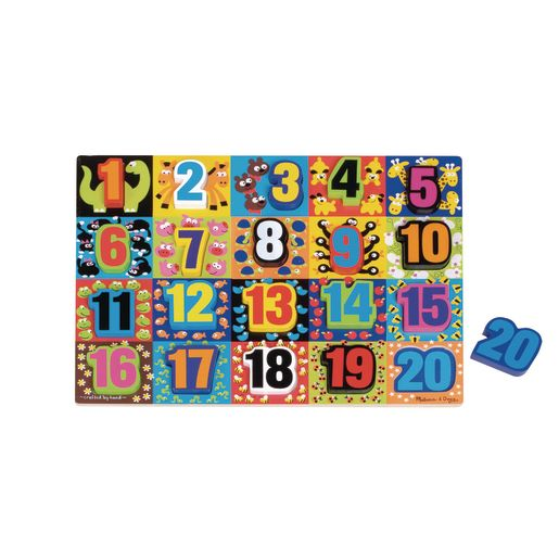 Image of Chunky Number Puzzle