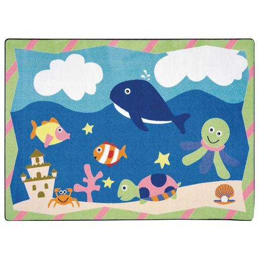 """Sea Babies Infant Carpet - 3'10"""" x 5'4"""""""
