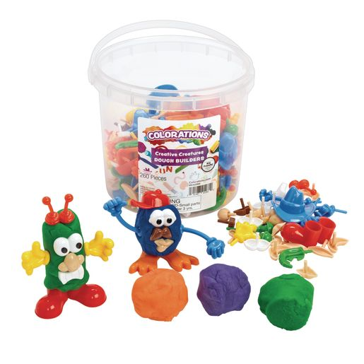 Image of Colorations Creative Creatures Dough Builders - 260 Pieces