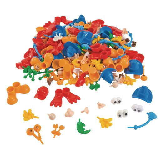 Colorations® Creative Creatures Dough Builders - 260 Pieces