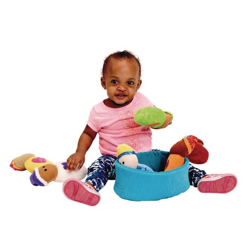 Excellerations® Plush Basket of Sensory Babies - 7 Pieces_1