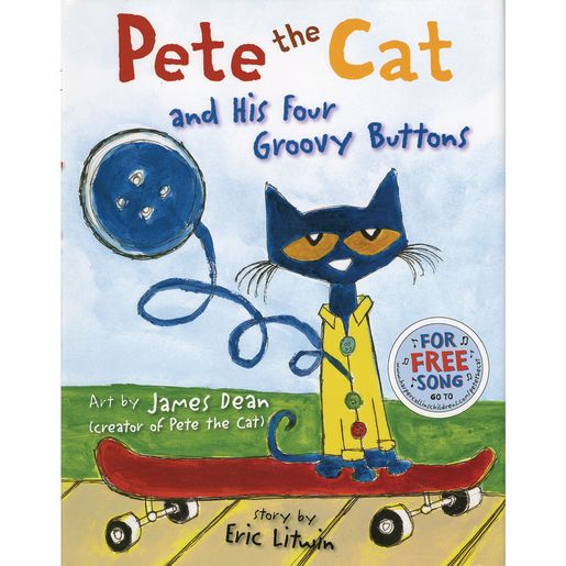 Pete the Cat & His 4 Groovy Buttons_0