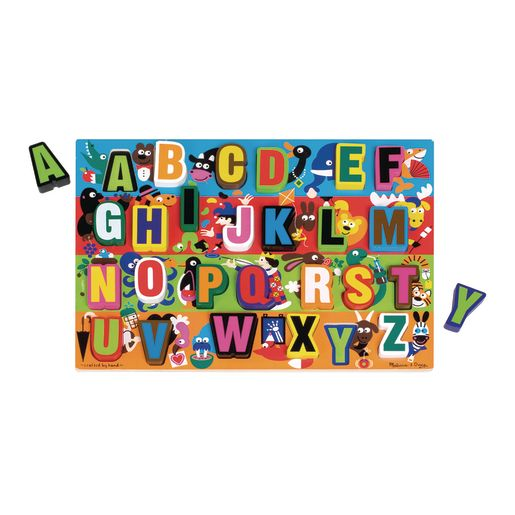 Chunky Alphabet and Number Puzzles