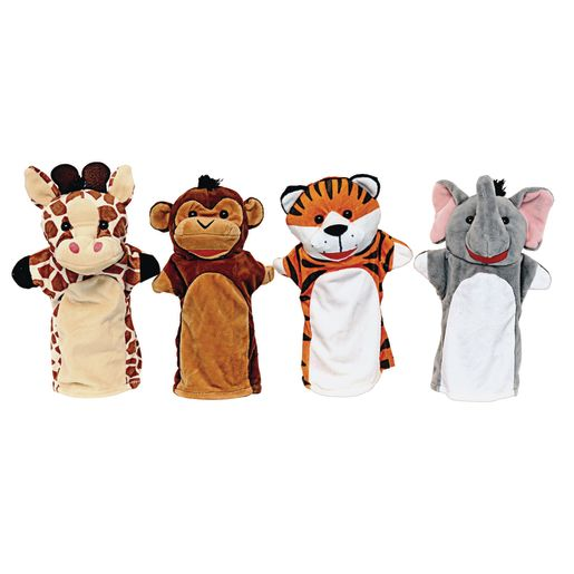 Toddler Hand Puppets - Zoo Friends