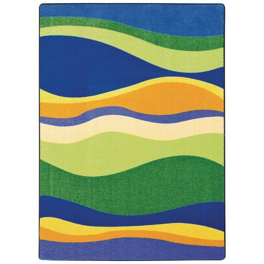 "Riding Waves Carpet - 7'8"" x 10'9"" Rectangle"