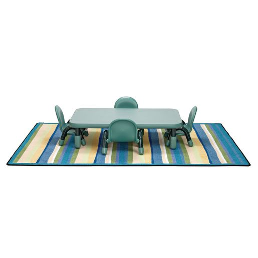 Angeles 174 Baseline 174 Rectangular Toddler Table Amp Chair Set